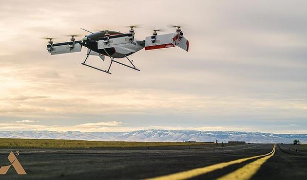 Airbus'tan elektrikli 'uçan taksi'