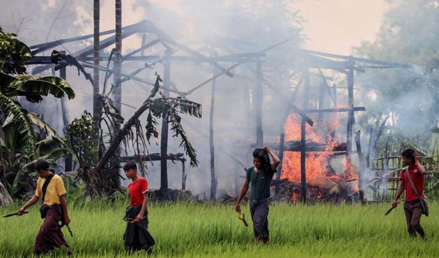 Myanmar, katliam delillerini yok ediyor