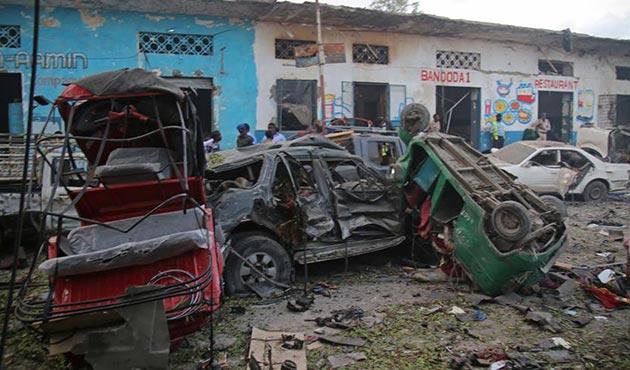 Somali'deki bombalı saldırılarda ölü sayısı 29'a yükseldi