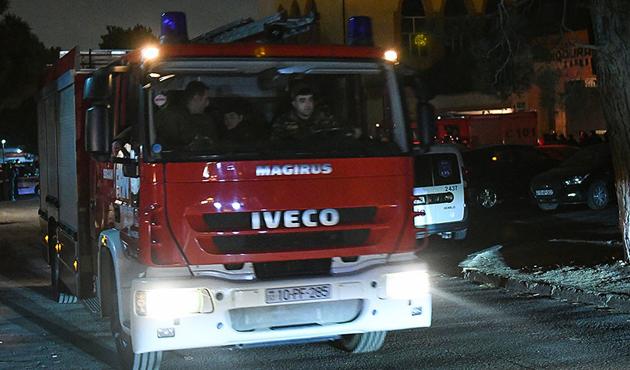 Azerbaycan'daki yangında 25 kişi hayatını kaybetti