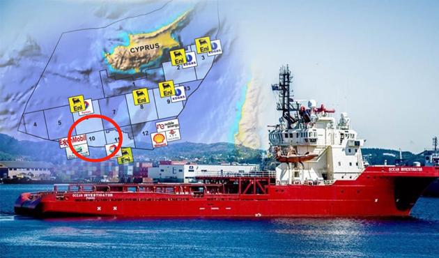 Kıbrıs'ta ENI gitti Rockefeller'ın gemileri geldi