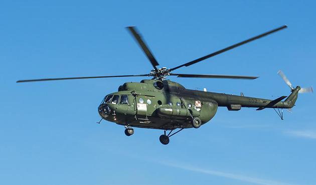 Çeçenistan'da helikopter düştü: 7 ölü