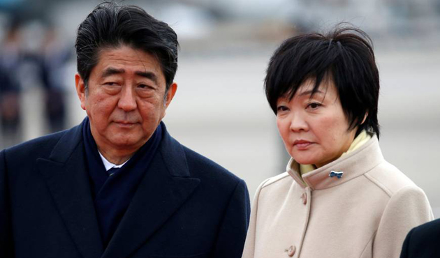 Japonya'da Abe'nin karıştığı skandala konu olan belgeler değiştirilmiş