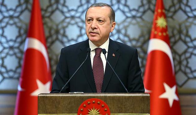 Cumhurbaşkanı Erdoğan: Afrin'de Türk bayrağı dalgalanıyor