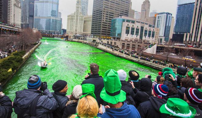 Amerikalılar İrlanda gününü kutluyor