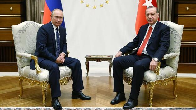 Telefonda Erdoğan Putin zirvesi