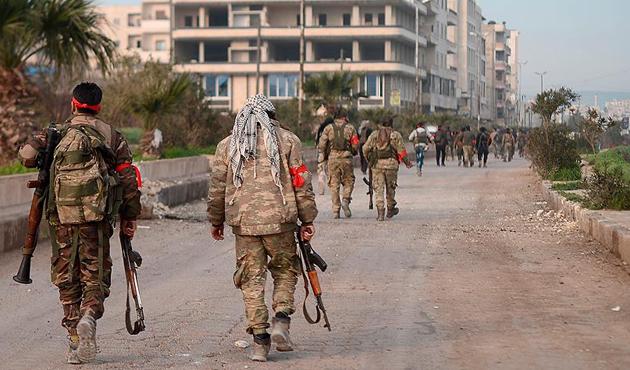 ÖSO'dan Afrin'de yağma suçu işleyen üyelerine yaptırım