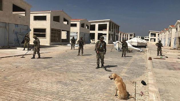 Afrin'de 46 mayın ve patlayıcılar imha edildi