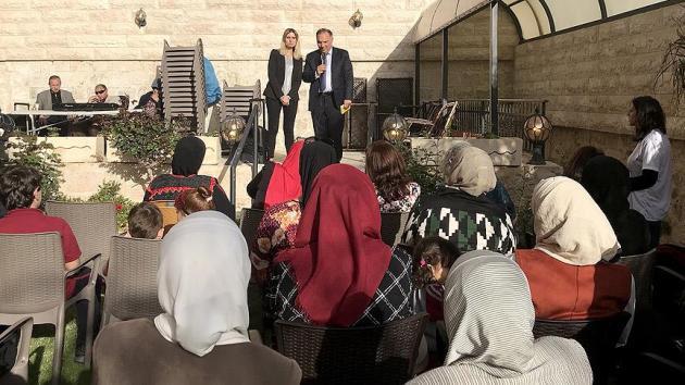 Filistinliler Anneler Günü'nü Türk Kültür Merkezi'nde kutladı