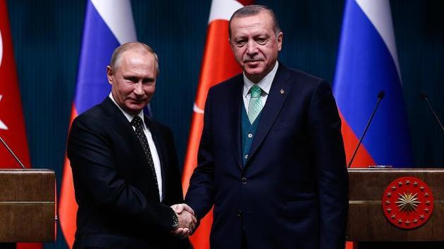 Cumhurbaşkanı Erdoğan, Putin ile Doğu Guta'yı görüştü