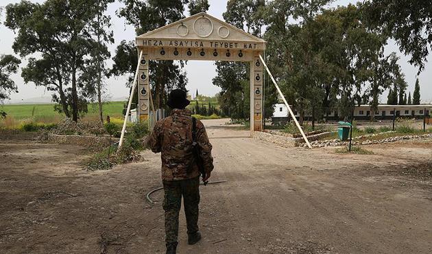 Afrin'de YPG'nin sözde özel kuvvetler üssü bulundu | FOTO