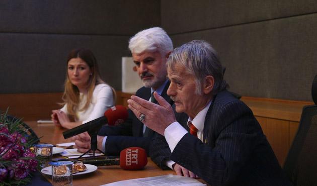 Kırım Tatar halkının lideri Kırımoğlu TBMM'de