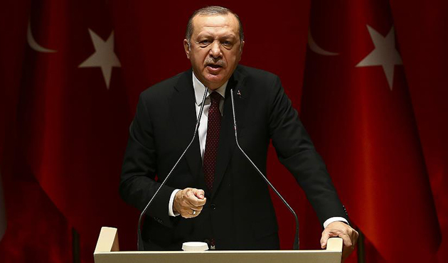 Erdoğan'dan Macron'a: Haddini ve boyunu aşan bir açıklama