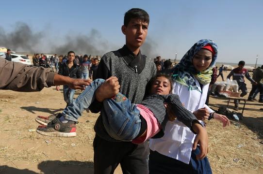İsrail polisi Filistinli aktivistlere saldırdı: 49 yaralı