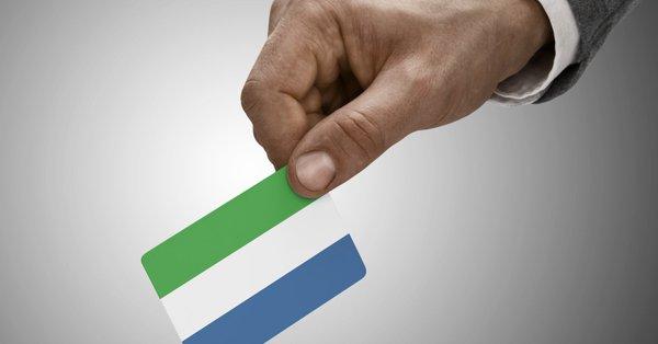 Sierra Leone'de cumhurbaşkanlığı seçimi