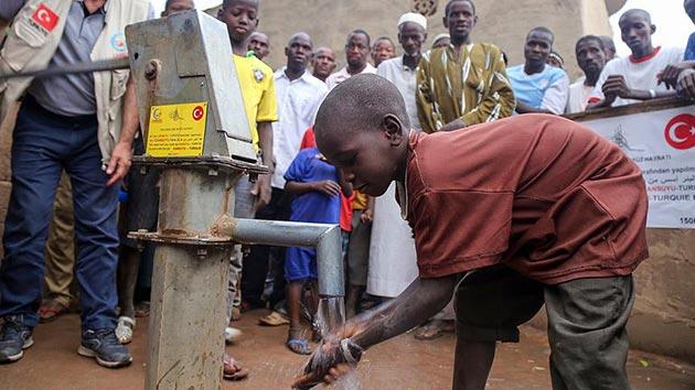 Malililer 'Cansuyu' ile temiz suya kavuştular