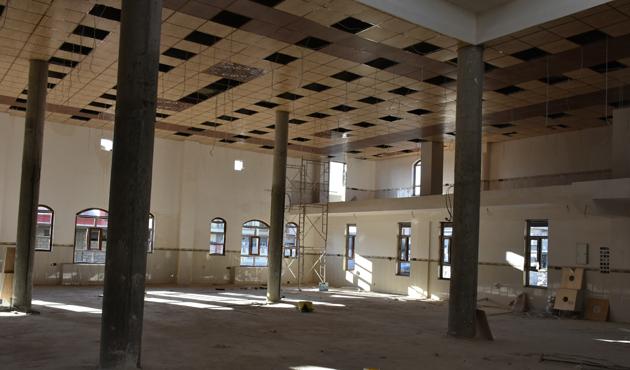 Kerkük'teki Sultan Abdülhamid Han Camisi bitiyor