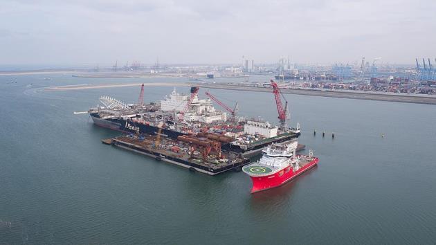 TürkAkım'ın ilk hattı 10 Mayıs'tan önce tamamlanacak