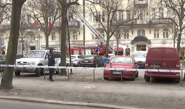 İsveç'te 3 büyükelçiliğin bulunduğu binada yangın