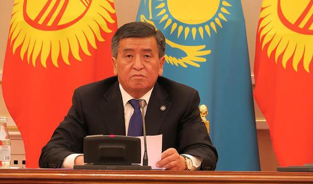 Kırgızistan Cumhurbaşkanı Ceenbekov haftaya Türkiye'ye gelecek