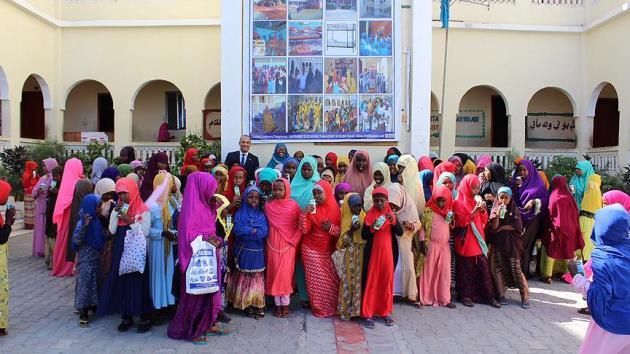 Türkçe, Somali'de bir anaokulunda müfredata girdi