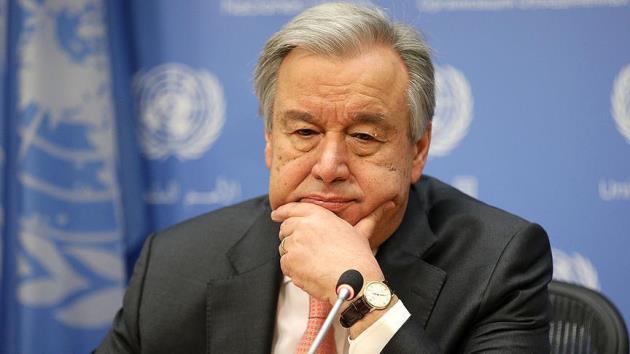 Guterres kimyasal silah konusunda endişeli