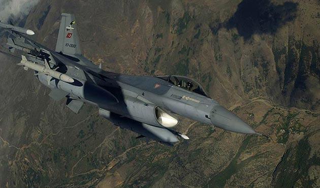 Kuzey Irak'taki 12 terör hedefi imha edildi