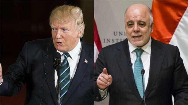 Trump-İbadi görüşmesinde gündem Doğu Guta