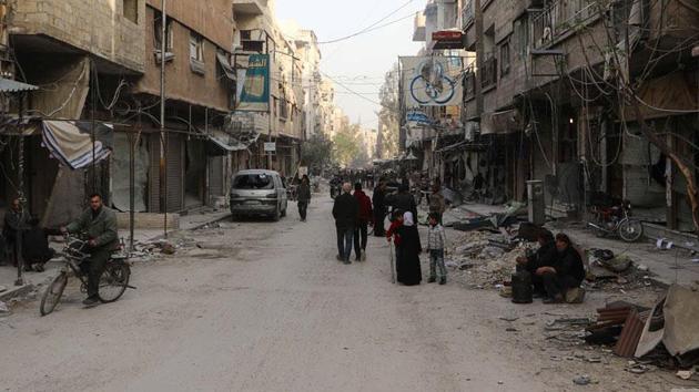 Esed rejiminin BM'ye 'Doğu Guta' yasağı sürüyor