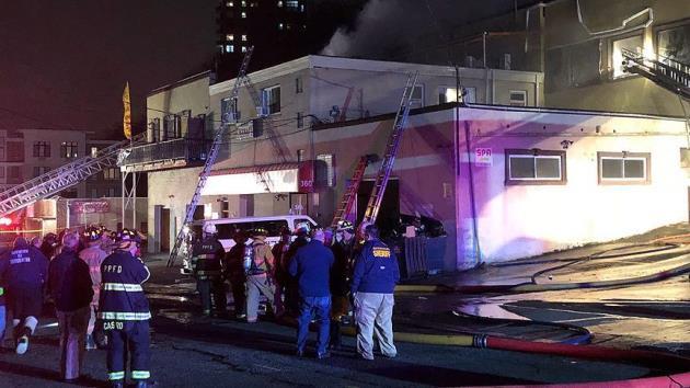 ABD'de Türk restoranının olduğu binada yangın
