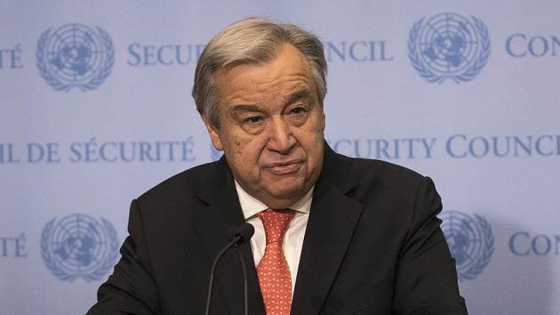 Guterres'ten Hizbullah'a çağrı