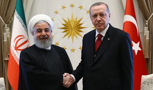 Erdoğan ile Ruhani, Trump'ın İran kararı için görüştü