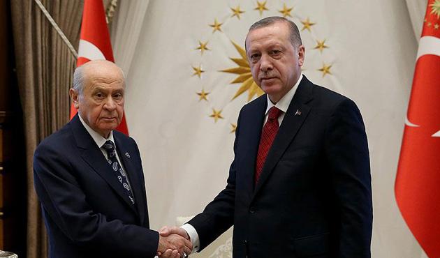 Beştepe'de Erdoğan-Bahçeli zirvesi