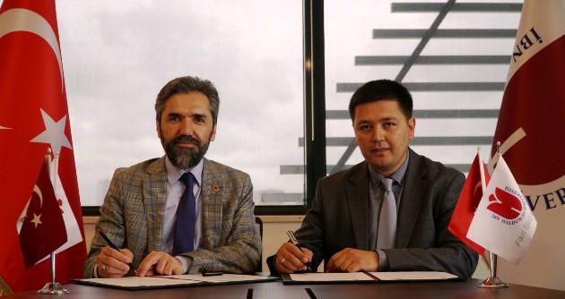 İbn Haldun Üniversitesi Özbekistan'da ortaklık kurdu