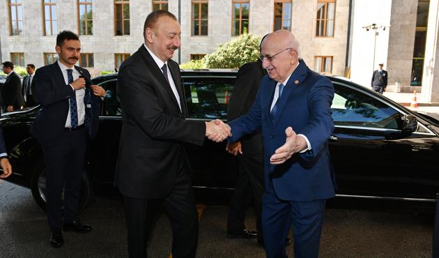 Azerbaycan Cumhurbaşkanı Aliyev, TBMM'de
