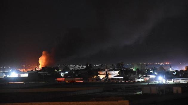 YPG'nin bulunduğu Kamışlı'da art arda patlamalar