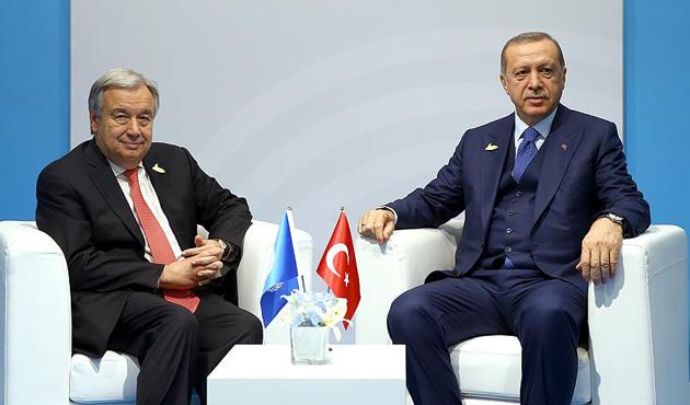 'BM, Türkiye ile iş birliğini sürdürmeyi dört gözle bekliyor'