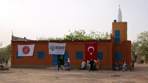 İDDEF'in Burkina Faso'da yaptırdığı 8 medrese hizmete açıldı