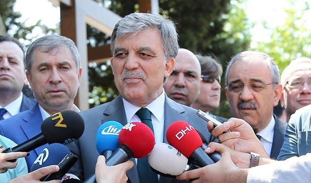 Abdullah Gül: Adaylığım artık söz konusu değil