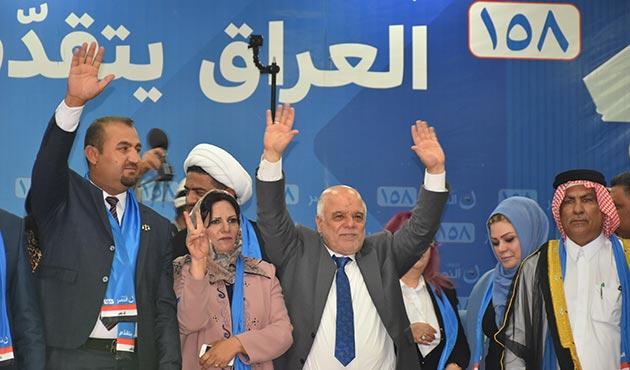 Irak seçimlerinde İbadi'nin koalisyonu önde