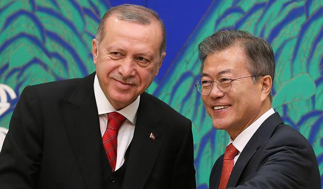 Erdoğan'dan Güney Kore'ye 'Kanal İstanbul' teklifi