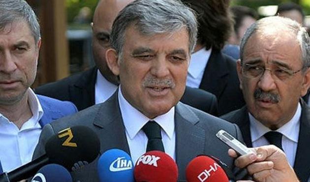 Gül'den Erdoğan'a tebrik