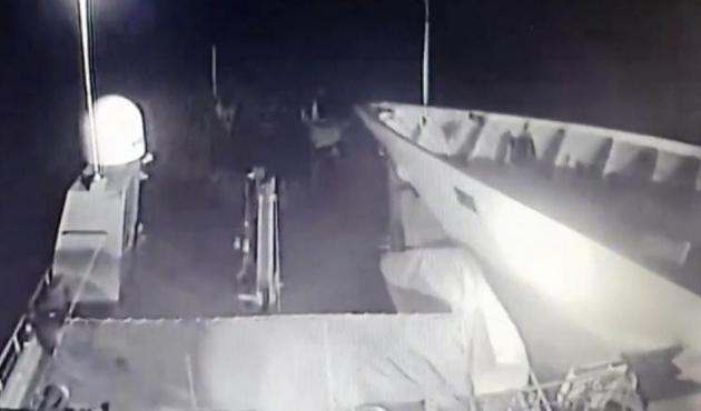 Ege'de Türk gemisi ile Yunan Savaş gemisi çarpıştı!