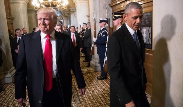 Trump İsrailli ajanları Obama'nın peşine taktı