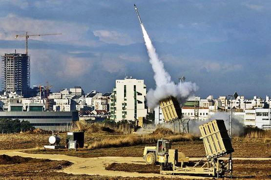 İsrail'in Demir Kubbeleri Golan'da