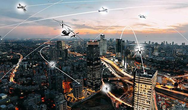 NASA ve Uber 'uçan taksi' konusunda anlaştı