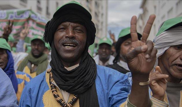 Fas'ta gözaltındaki aktivistlerin serbest bırakılması için gösteri