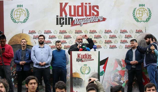 İHH ve AGD'den Taksim'e protesto çağrısı