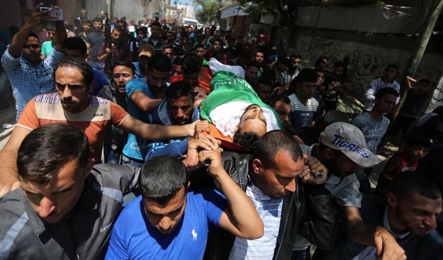 İsrail katliamında şehit olanlar Nekbe acısını ikiye katladı | GRAFİK
