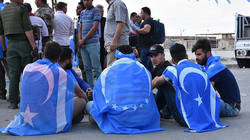Türkmenlerden seçimde hile protestosu
